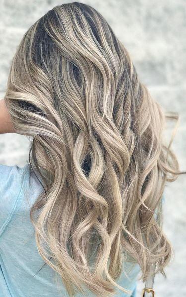 Best Hair Color Ideas 2017 2018 Beige Blonde Highlights