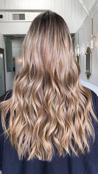 Best Hair Color Ideas 2017 / 2018 dark blonde highlights