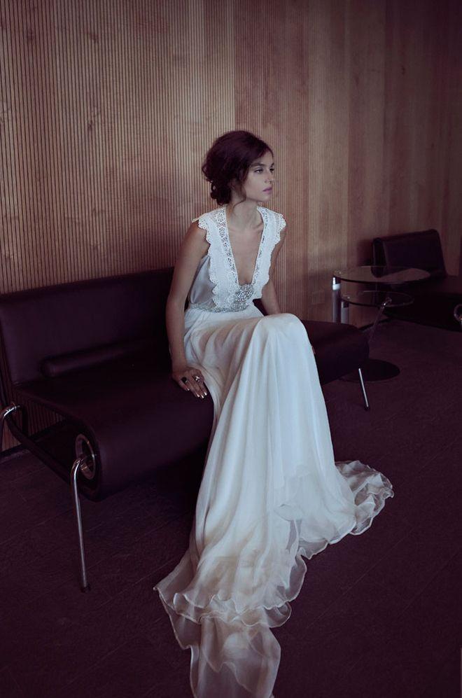 Best A-Line Wedding Dress: Zahavit Tshuba Wedding Gowns + My Dress ...