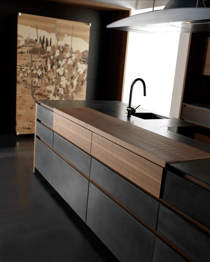 Modern Kitchen Design : Cucina in cemento con isola WIND CEMENTO ETA ...