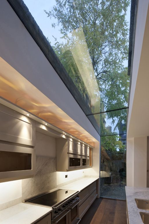 Modern Kitchen Design Glass Side Return Like The Smoked Glass The Near Flat Roof The Modern Surroun Trendyideas Net Your Number One Source For Daily Trending Ideas