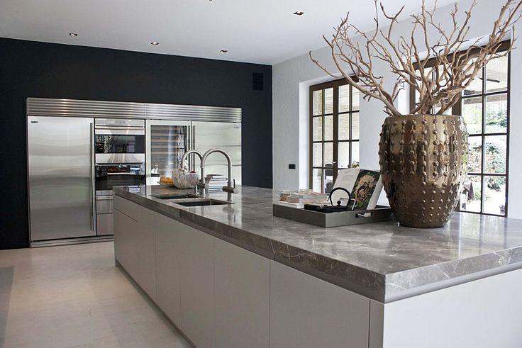 Landelijk Moderne Keukens : Modern kitchen design moderne keuken in landelijk huis van de