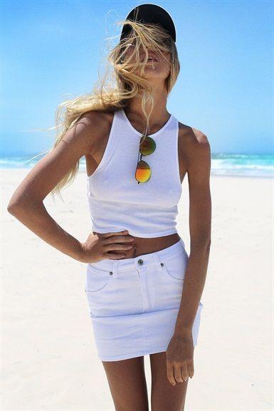 luxury white denim skirt outfit or 95 white denim skirt outfit pinterest