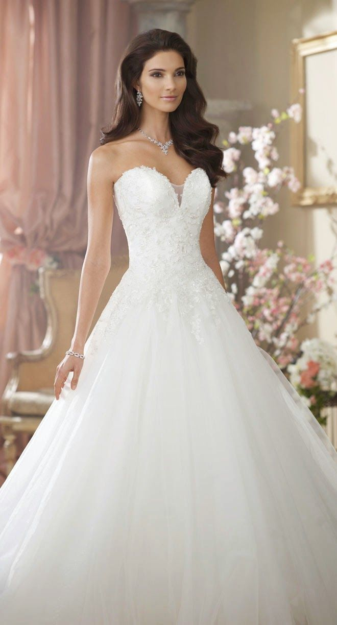 Princess wedding dresses david tutera for mon cheri fall for David s bridal princess wedding dresses