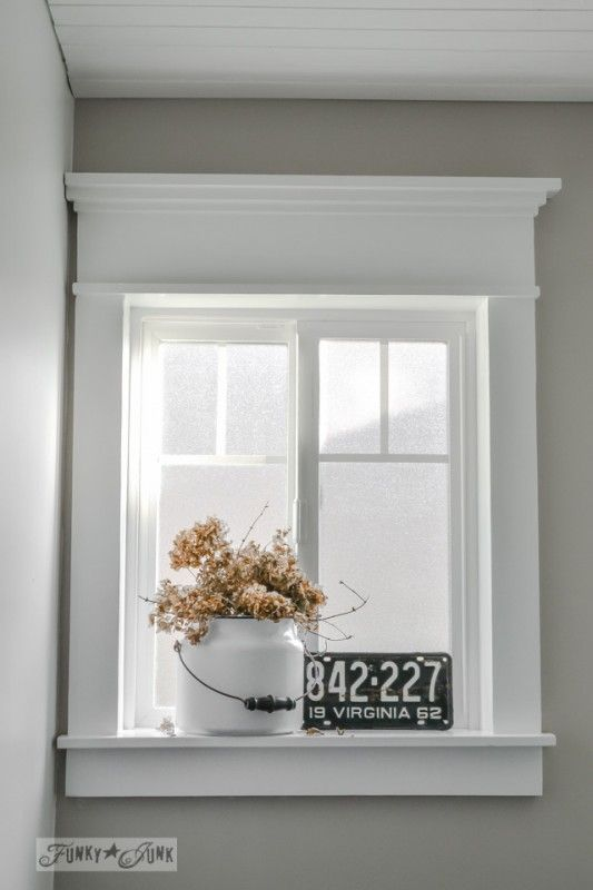 Trendy Ideas For Diy Home Funky Junk Interiors Craftsman Style Window Trim Using Flat Lumber And Not Mould Trendyideas Net Your Number One Source For Daily Trending Ideas