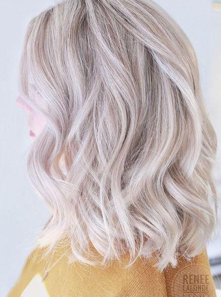 Best Hair Color Ideas 2017 / 2018 platinum blonde hair ...