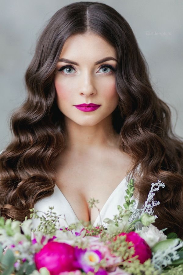 Wedding Hairstyles Down Wavy Bridal Hairstyles For Long Hair 9