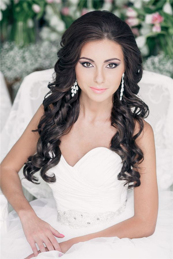 Wedding Hairstyles Curly Wedding Hairstyle For Long Hair Trendyideas Net Your Number One Source For Daily Trending Ideas