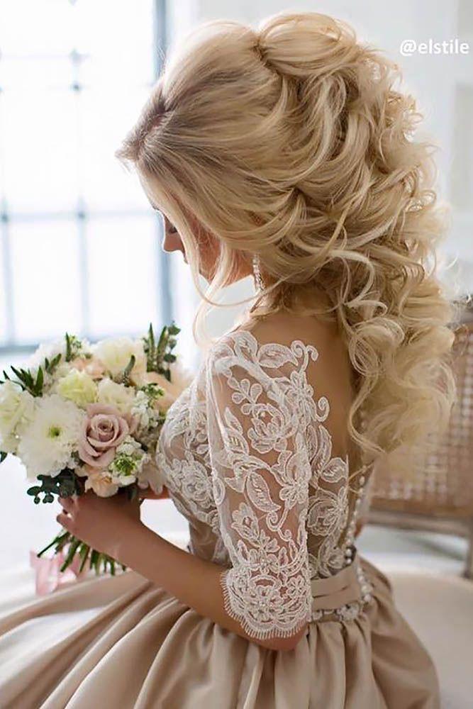 Wedding Hairstyles: 20 Half Up Half Down Wedding Hairstyles   Roses ...