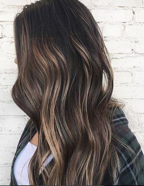 Best Hair Color Ideas 2017 / 2018 subtle brunette highlights ...