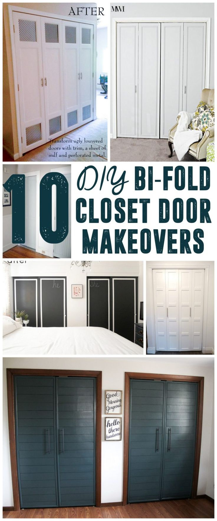 Makeover Ideas Before And Hy After Diy Bi Fold Closet