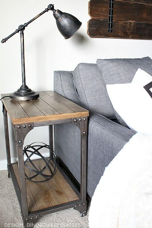 Best 25 Industrial Side Table Ideas On Pinterest  Black Sofa Impressive Side Tables For Living Room Decorating Inspiration