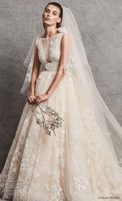 Wedding dresses ball gown zuhair murad fall 2018 for Fall 2018 wedding dresses