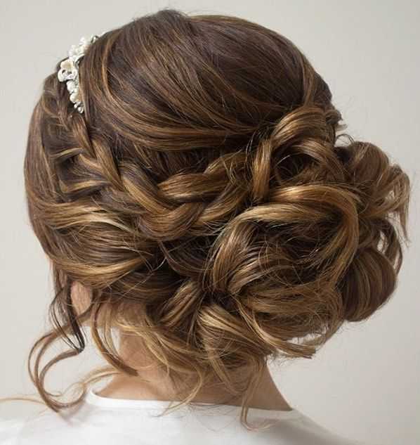 Wedding Hairstyles: Hairstyle: Hair and Make-up by Steph ...