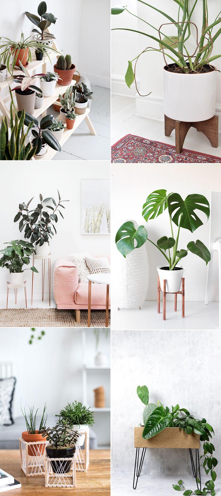 Trendy Ideas For Diy Home : DIY Plant Stands – Pflanzenständer: DIY ...