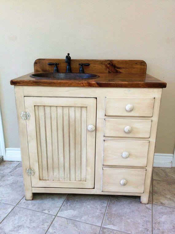 Country Style Bathroom Vanity Furniture