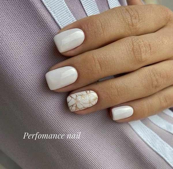 Festive manicure photo novelties