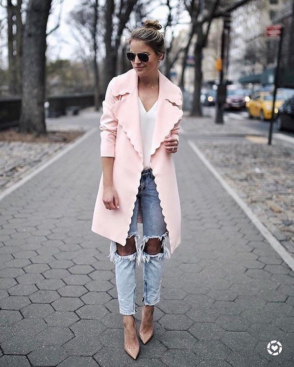 Fashionable outerwear: photos of new styles and images