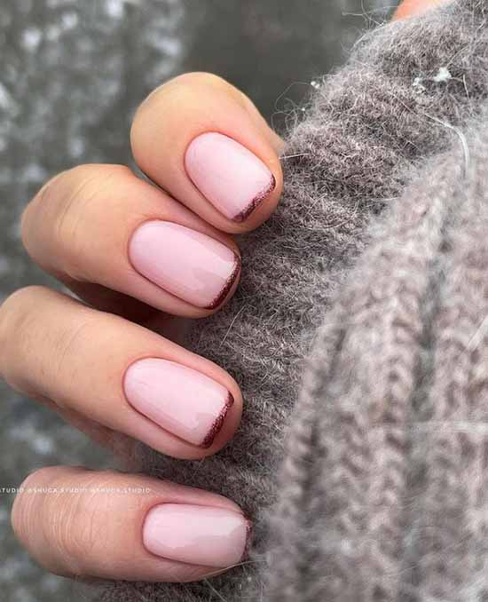 French short nails