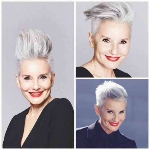 Looking younger is possible!  Anti-aging haircuts.  Photo news