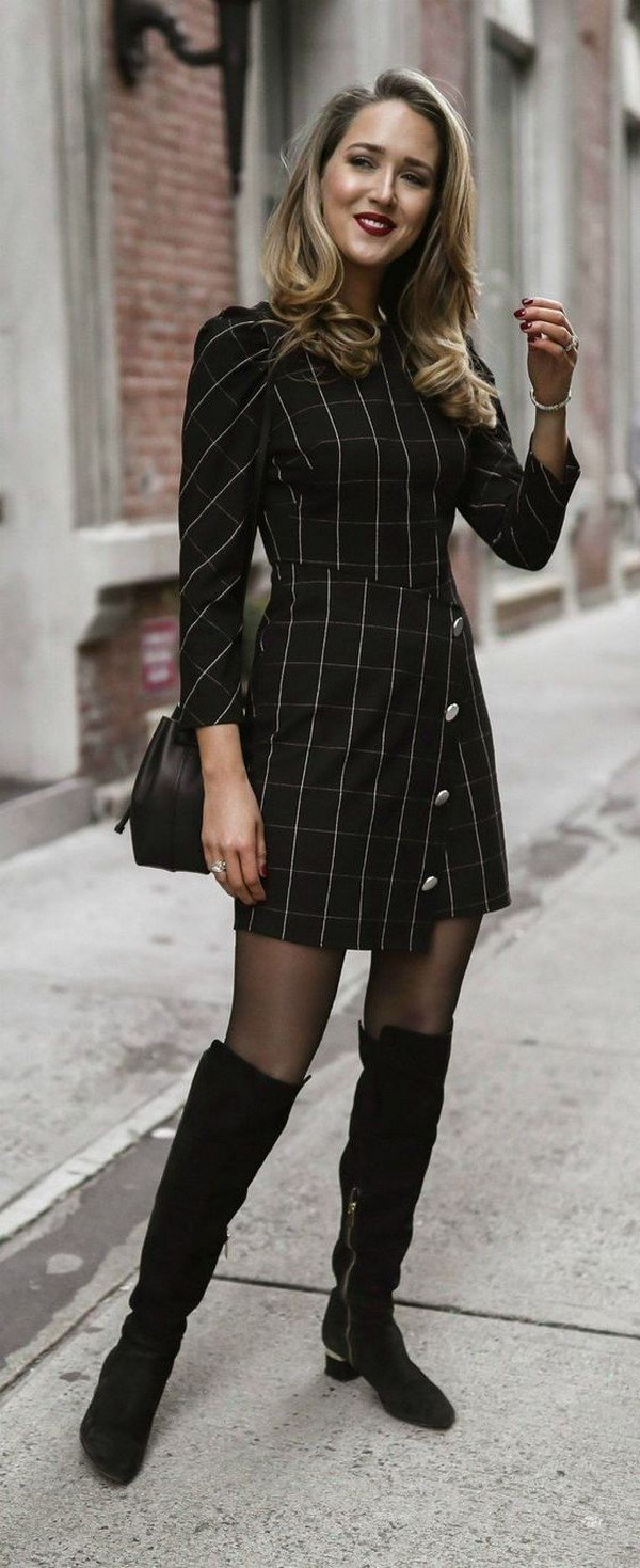 Winter dresses.  New items of styles, images, ideas