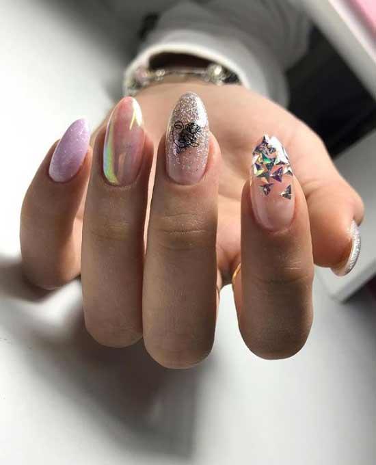 Rub in manicure