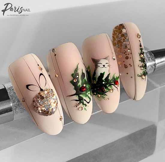 Examples of painting on nails