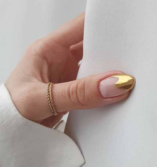 Foil nail design