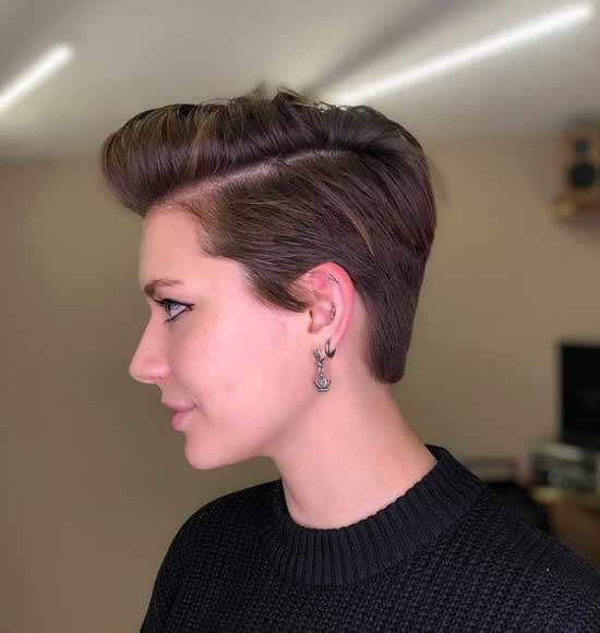 Haircut styling Muscovite