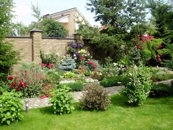 Sodding the garden