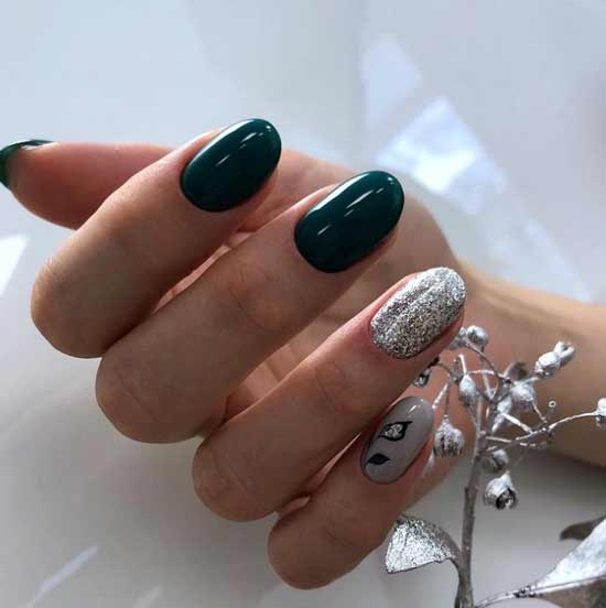 Fashionable winter manicure ideas