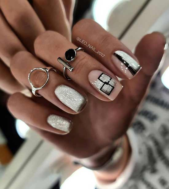 Fashion trends in winter manicure