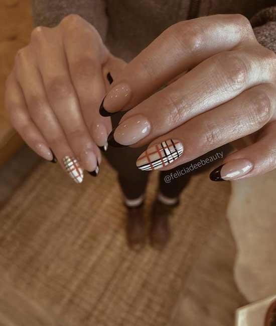 Business manicure winter