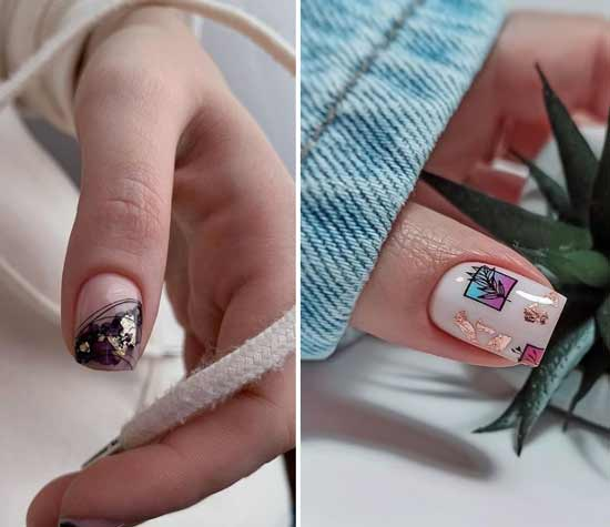 Potted nails