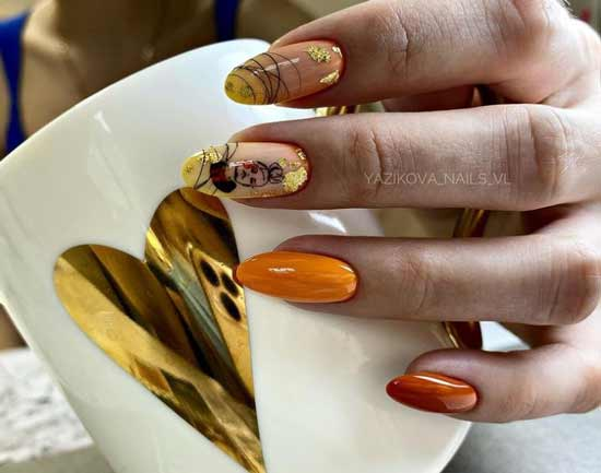 Beading and slider on nails