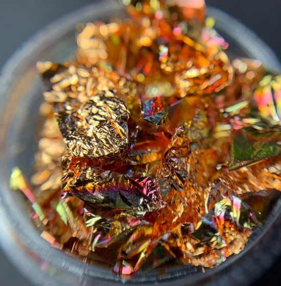 Multicolored potal for nail design