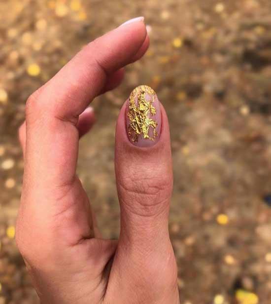 Potal mesh on nails