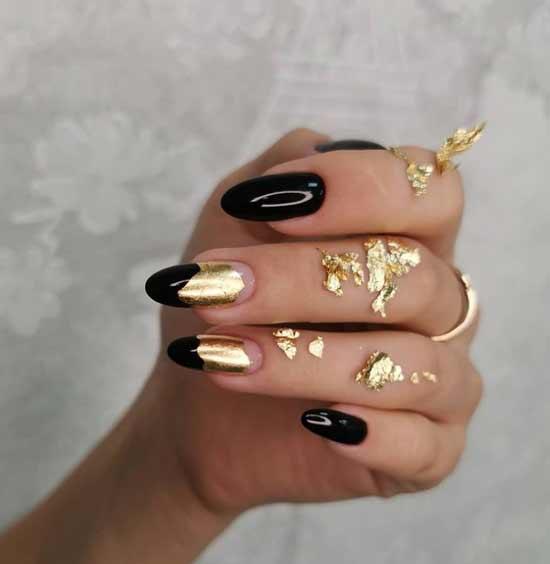 Foil casting on nails
