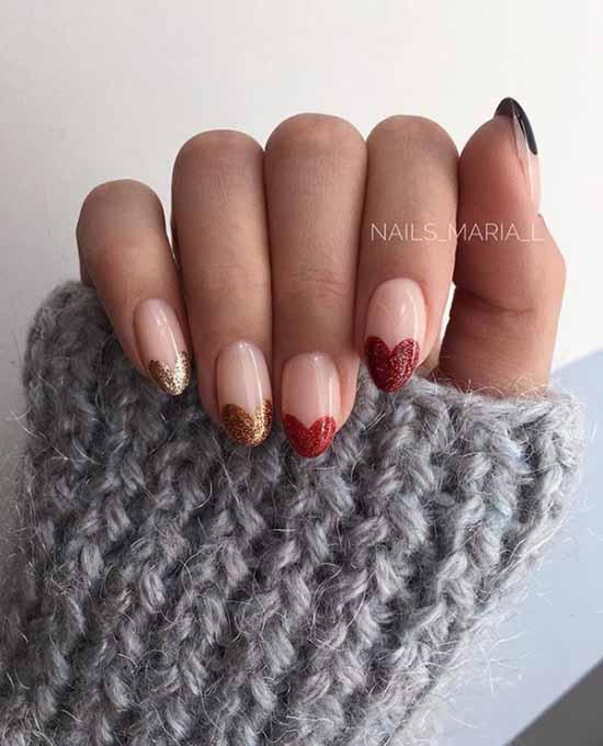 Red Glitter Manicure: +100 Cool Design Ideas