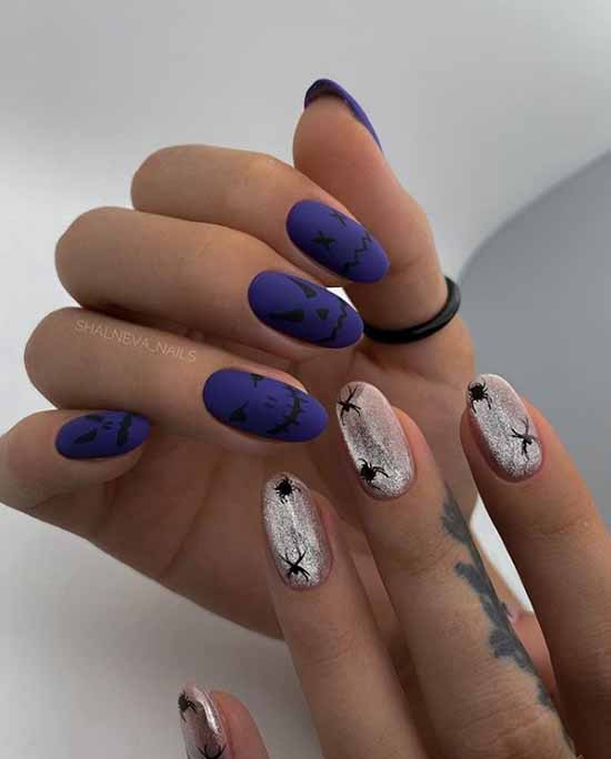 Silver nail design: 105 ideas on the photo with new manicure