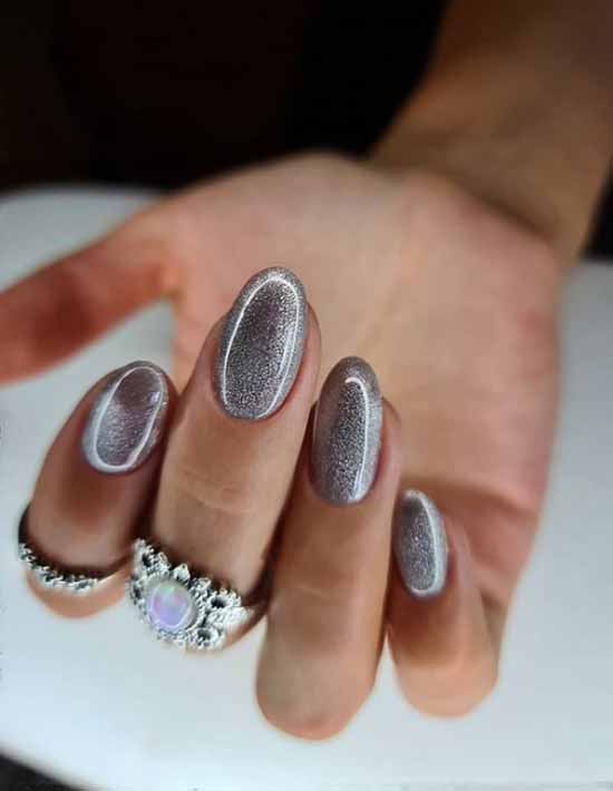 Silver kitty design