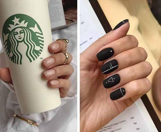 Fashionable manicure gel shellac