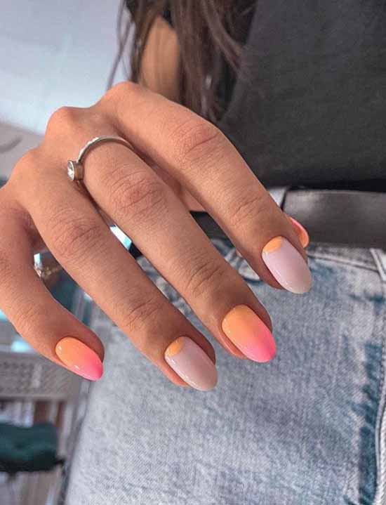 Matte top on nails