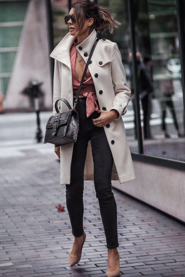 Street style looks spring-summer 2021 - top 15 trends in the photo