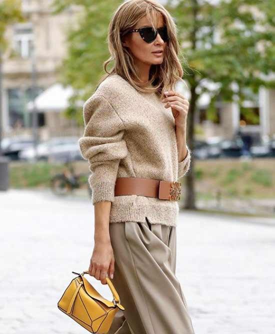 Sweater belt