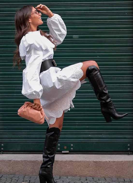 Belt with dress