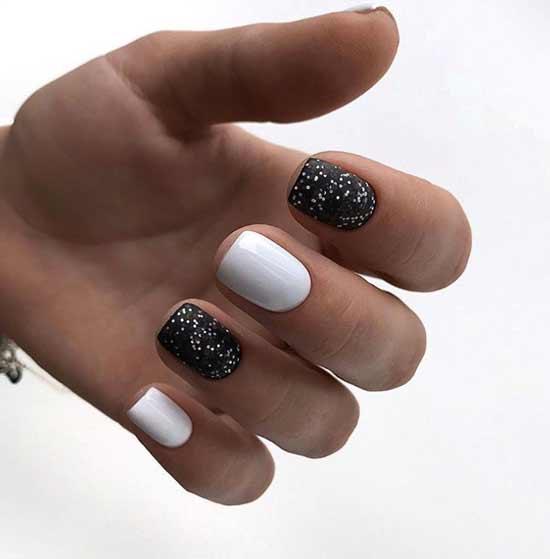Black and white festive design