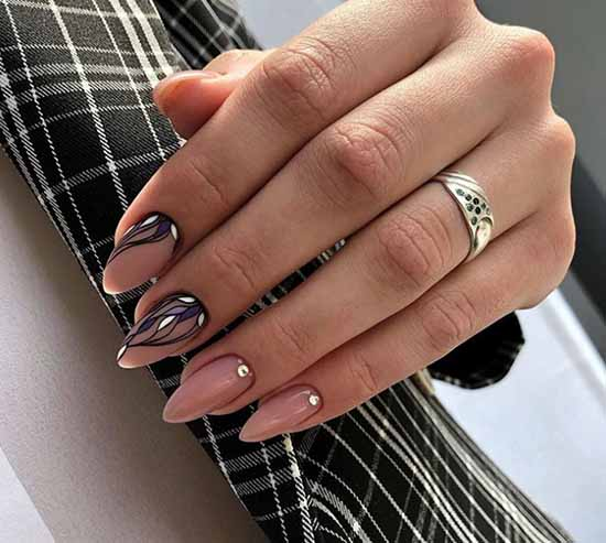 Festive manicure: +100 photos of new nail designs