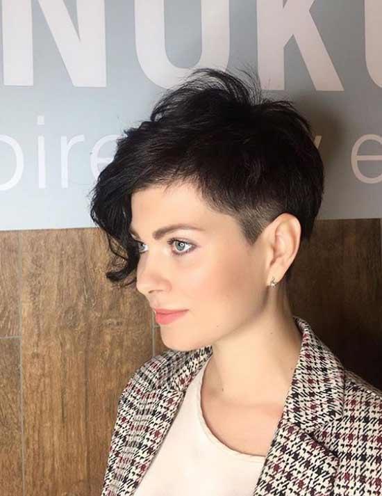 Curly elongated bangs photo haircuts