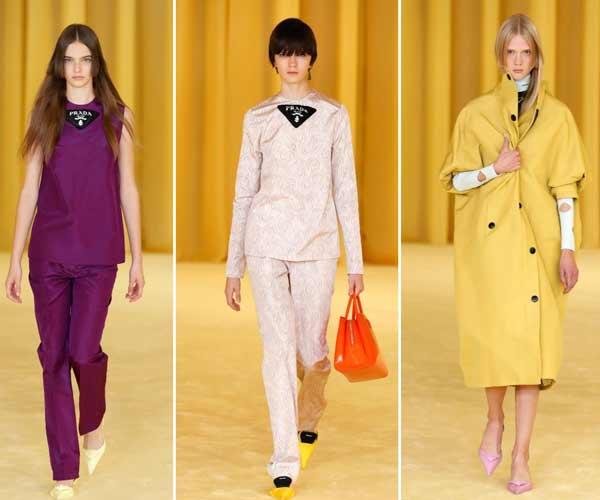 Prada Fashion Long Bangs